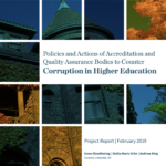 Policies and Actions of Accreditation and Quality Assurance Bodies to Counter Corruption in Higher Education
