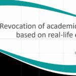 Revocation of academic degrees based on real-life examples